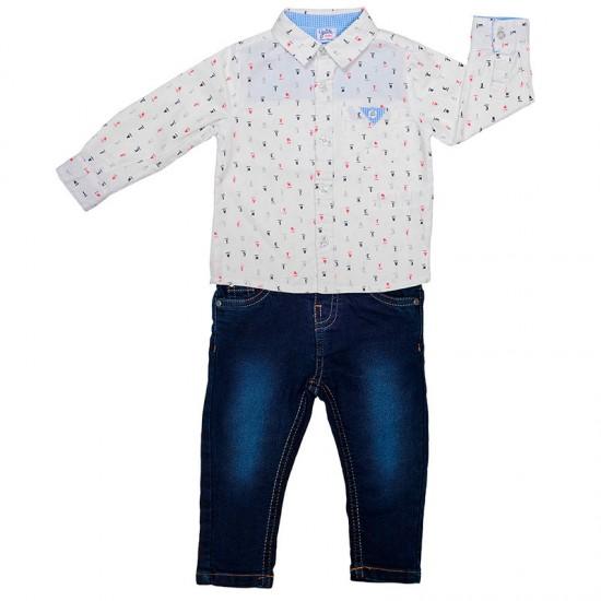 Комплект риза и дънки