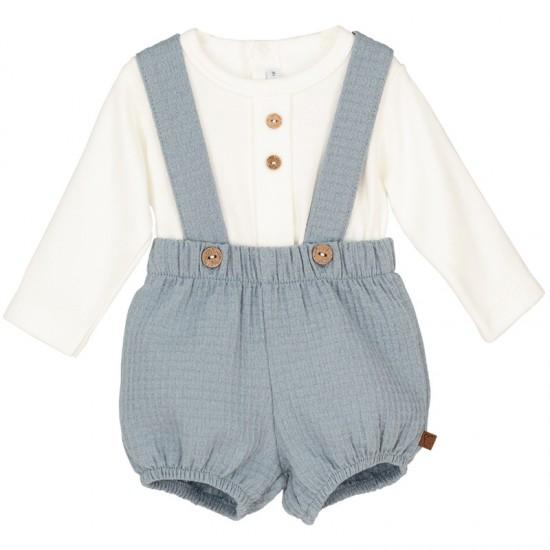 Комплект блуза и панталонки с презрамки