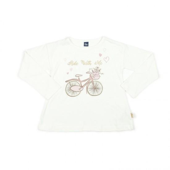 Блуза с дълъг ръкав Велосипед